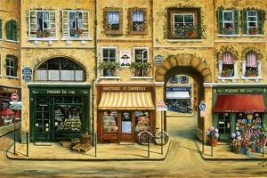 Les Rues De Paris by Marilyn Dunlap