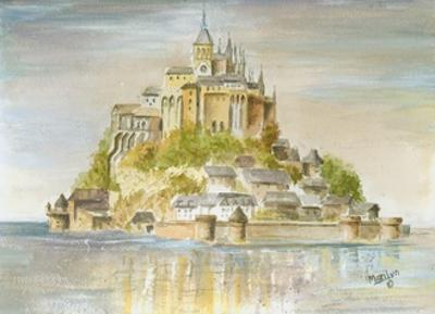 Mont St Michel by Marilyn Dunlap