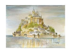Mont St Michel by Marilyn Dunlap