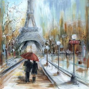 Paris Lovers I by Marilyn Dunlap