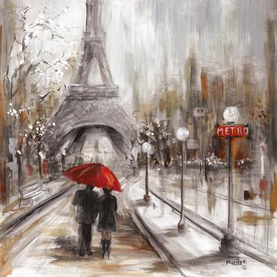 Rainy Paris by Marilyn Dunlap