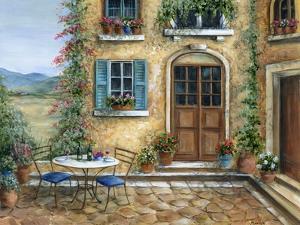 Romantic courtyard by Marilyn Dunlap