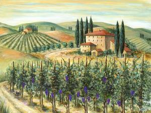 Tuscan Villa and Vineyard by Marilyn Dunlap