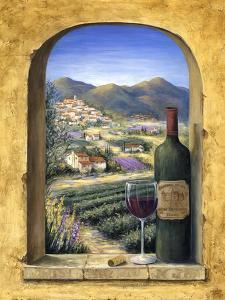 Wine and Lavender II by Marilyn Dunlap