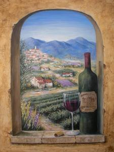 Wine and Lavender by Marilyn Dunlap