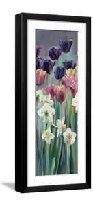 Grape Tulips Panel II by Marilyn Hageman