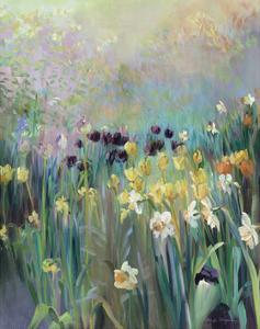 Grape Tulips by Marilyn Hageman