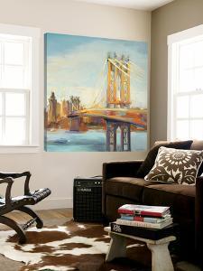 Sunny Manhattan Bridge by Marilyn Hageman