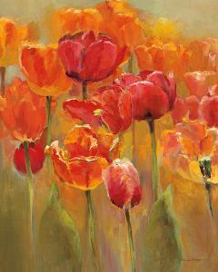 Tulips in the Midst I by Marilyn Hageman