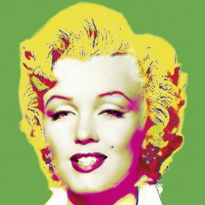 Marilyn in Green-Wyndham Boulter-Art Print