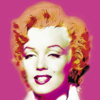 Marilyn in Pink-Wyndham Boulter-Art Print