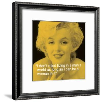 Marilyn: Man's World--Framed Art Print