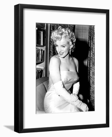 Marilyn Monroe 1955 Birth of the Marilyn Monroe Productions--Framed Photo