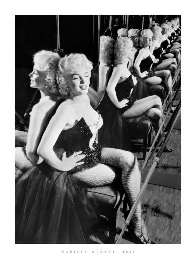 Marilyn Monroe, 1955--Art Print