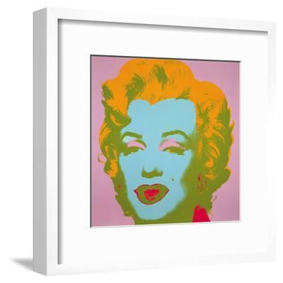 Marilyn Monroe, 1967 (pale pink)-Andy Warhol-Framed Art Print