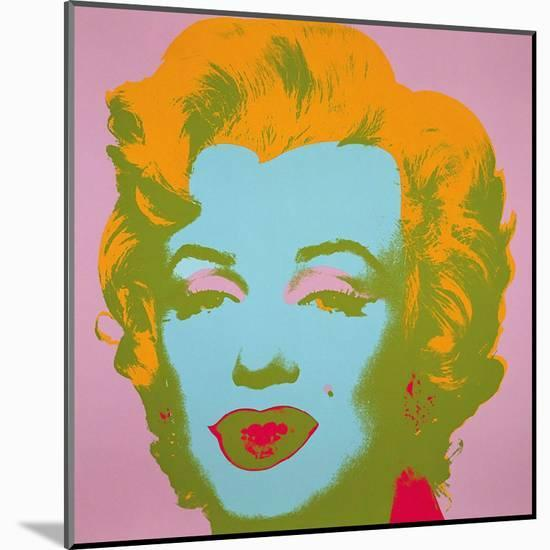 Marilyn Monroe, 1967 (pale pink)-Andy Warhol-Mounted Art Print