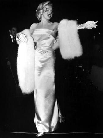 "Marilyn Monroe at Premiere of Film ""Call Me Madam"" on March 4, 1953"