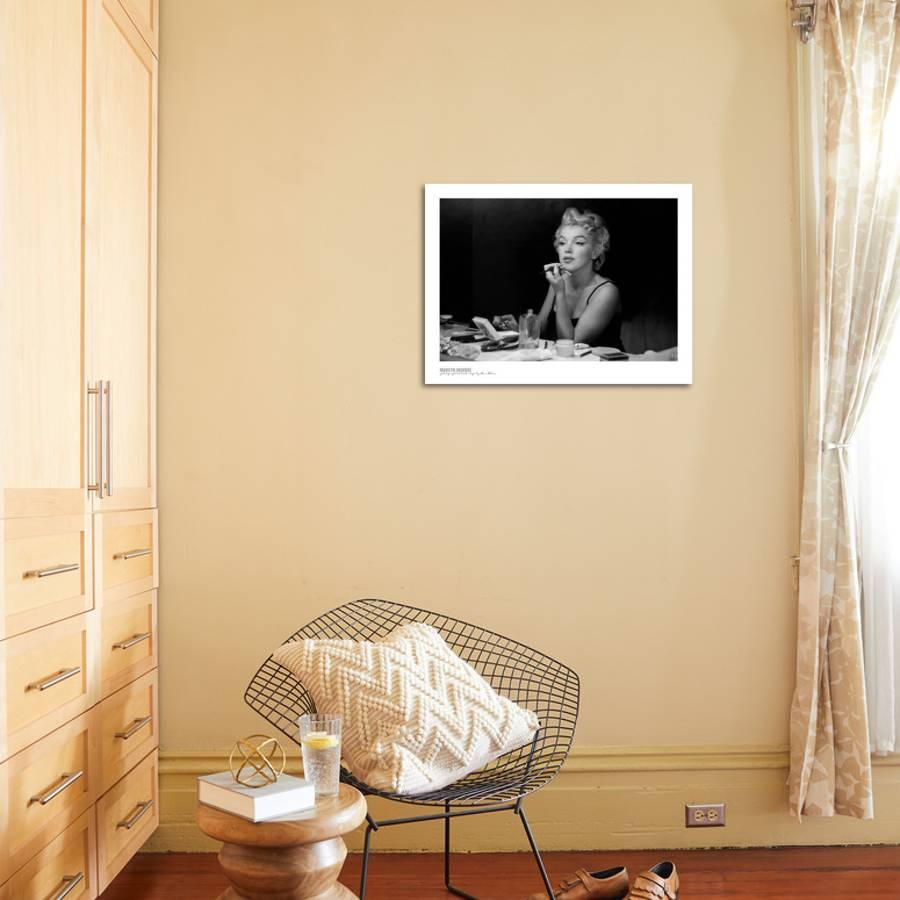Marilyn Monroe, Back Stage Art Print by Sam Shaw | the NEW Art.com
