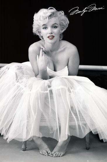 Marilyn Monroe-Ballerina--Poster