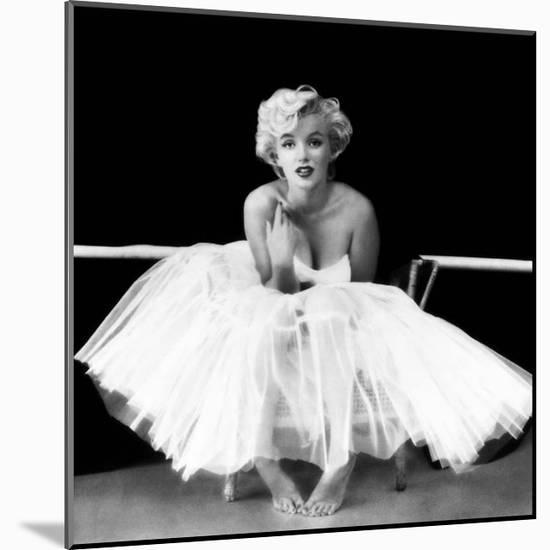 Marilyn Monroe - Ballet Dancer-Milton H. Greene-Mounted Art Print