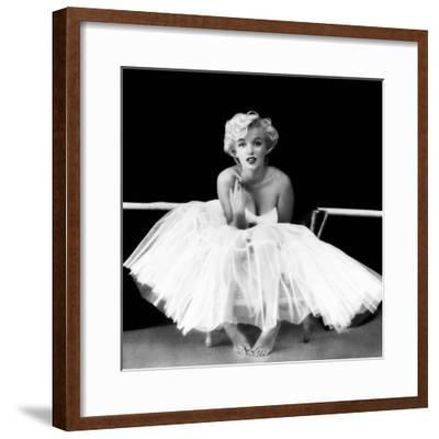 Marilyn Monroe - Ballet Dancer-Milton H. Greene-Framed Art Print