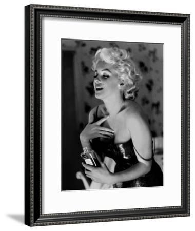 Marilyn Monroe, Chanel No.5-Ed Feingersh-Framed Art Print