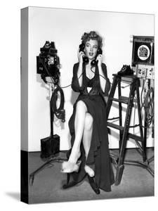"""Marilyn Monroe. """"Don't Bother to Knock"""" [1952], Directed by Roy Ward Baker."""