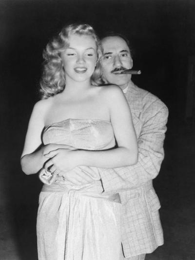 Marilyn Monroe, Groucho Marx, Love Happy, 1949--Photographic Print