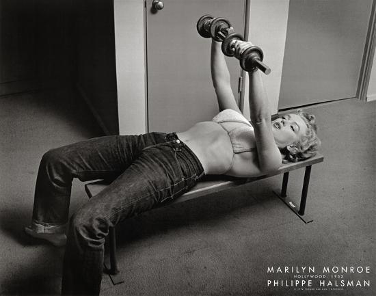 Marilyn Monroe, Hollywood 1952-Philippe Halsman-Art Print