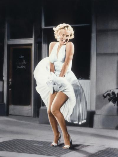 Marilyn Monroe in 'The Seven Year Itch', 1955--Photo