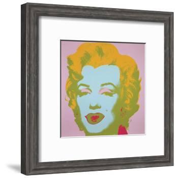 Marilyn Monroe (Marilyn), 1967 (pale pink)-Andy Warhol-Framed Art Print