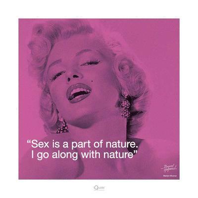 Marilyn Monroe – Nature-Bernard of Hollywood-Art Print