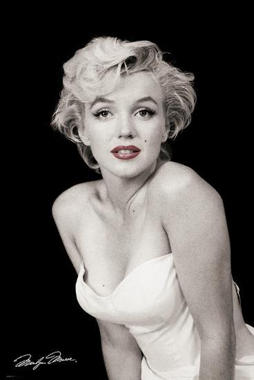 Marilyn Monroe-Red Lips-Unknown-Art Print
