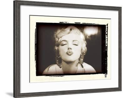 Marilyn Monroe Retrospective I-British Pathe-Framed Art Print