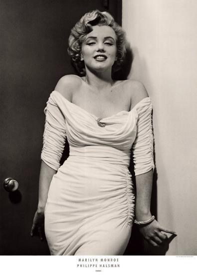 Marilyn Monroe-Philippe Halsman-Art Print