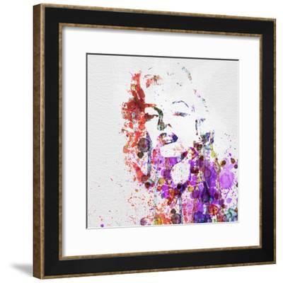 Marilyn Monroe-NaxArt-Framed Premium Giclee Print