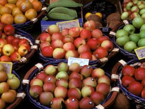 Apples For Sale, Nasch Market, Vienna, Austria by Marilyn Parver