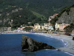 Coastline, Monterossa, Vernazza, Cinque Terre, Italy by Marilyn Parver