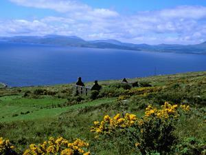 Conor Pass Ruin, Dingle Peninsula, County Kerry, Ireland by Marilyn Parver