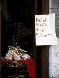 Pasta Shop, Assisi, Umbria, Italy by Marilyn Parver