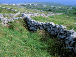 Rock Walls, Aran Island, Inishmore, Ireland by Marilyn Parver