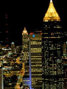 Southern Bell Building at Night, Atlanta, Georgia, USA by Marilyn Parver