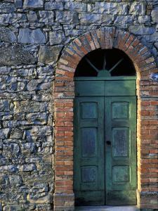 Village Door, Cinque Terre, Italy by Marilyn Parver