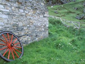 Wagon Wheel, Folkvillage, Ireland by Marilyn Parver
