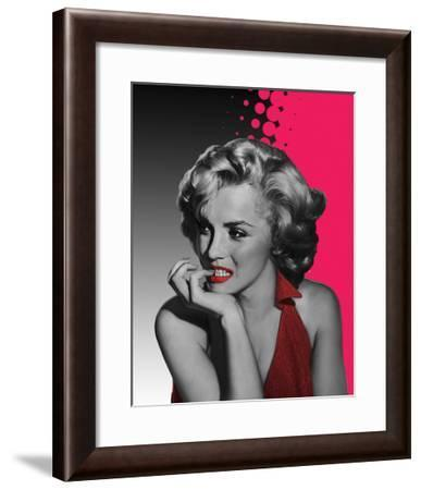 Marilyn Pink-Jerry Michael-Framed Art Print