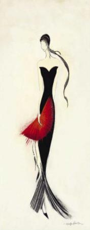 Lady in Black II by Marilyn Robertson