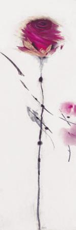 Oriental Rose I by Marilyn Robertson