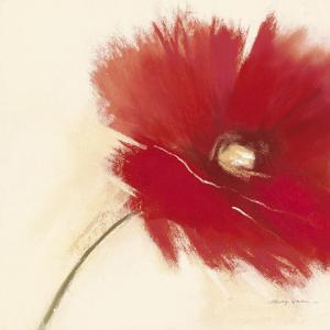 Red Poppy Power I by Marilyn Robertson