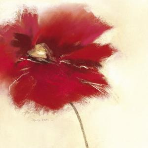 Red Poppy Power II by Marilyn Robertson