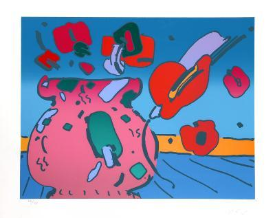 Marilyn's Flowers-Peter Max-Limited Edition